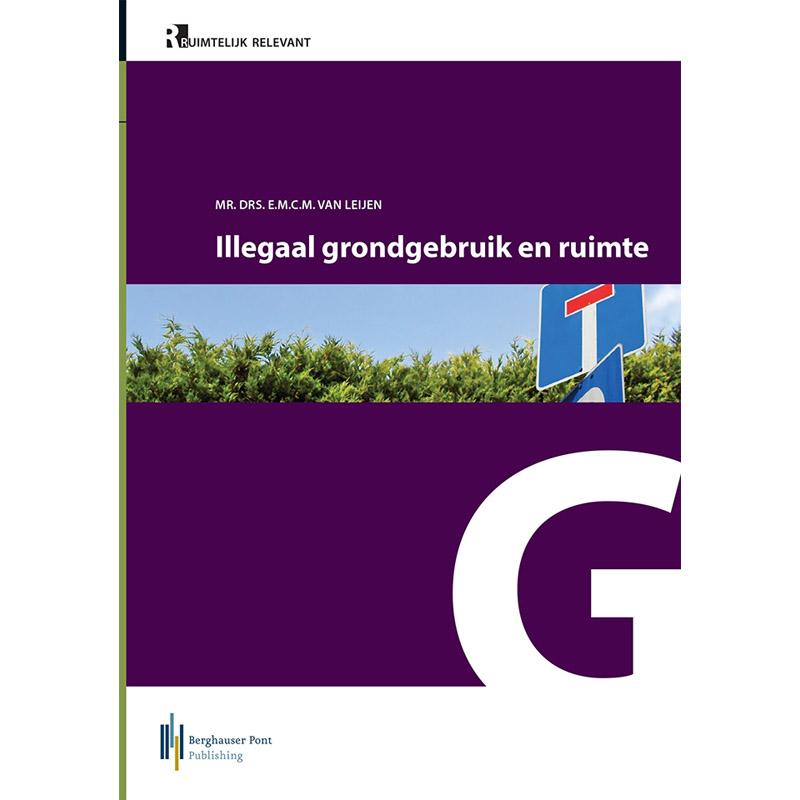 boek Illegaal grondgebruik en ruimte